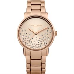 Aubrie Rose Gold Sunray Mesh Watch