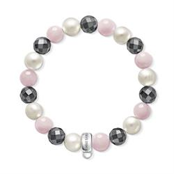 Buy Thomas Sabo Pink Mix Beaded Small Bracelet