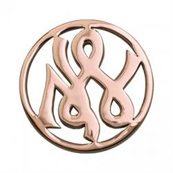 Rose Gold Courage Coin 33mm