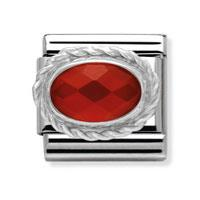 Faceted Red Agate
