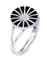 Buy Lund Silver Daisy Ring Size 54