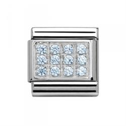 Buy Nomination Baby Blue CZ Pave