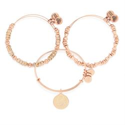 Hooked on You, Love Set in Shiny Rose Gold