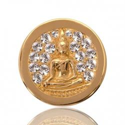 Gold Buddha Coin 23mm
