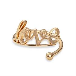 Love Ring Wrap in Gold