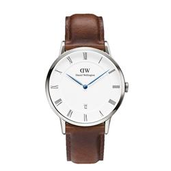 Daniel Wellington Dapper St Mawes Silver Gents Watch