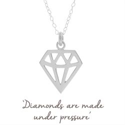 Hollly Matthews Diamond Necklace