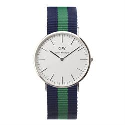 Daniel Wellington Mens Warwick Watch in Silver