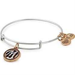 Buy Alex and Ani M Initial Two-Tone Bangle