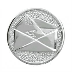 Love Letter Silver Coin 33mm