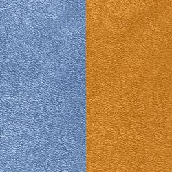 Denim Blue / Canyon Orange Wide Leather
