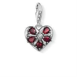 Buy Thomas Sabo Vintage Red Corundum Heart Charm