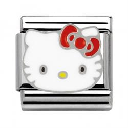 Hello Kitty Red Bow Charm