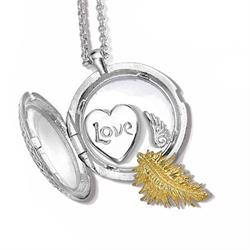 Loved, Protected, Blessed, Medium Cherish Locket