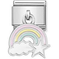 Hanging Rainbow Charm by Nomination