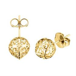 Gold Plated Stud earrings by Englesrufer