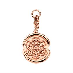 Rose Gold Wax Seal Amulet