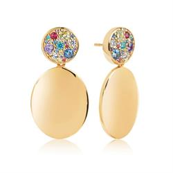 Sif Jakobs Gold Novara Drop Earrings