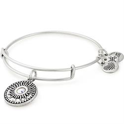 Rafaelian Silver Midnight Sun Bangle