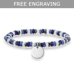 Lapis Lazuli Love Bridge Bracelet Medium