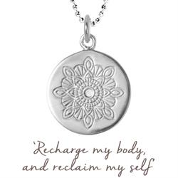 Julie Montagu Recharge Necklace in Silver