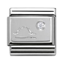 Buy Nomination Silver CZ Libra