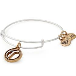 Buy Alex and Ani T Initial Two-Tone Bangle