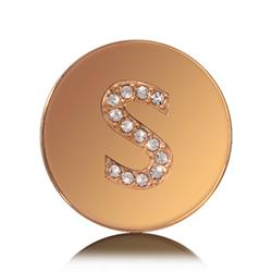 Letter S Small Gold Coin