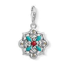 Ethnic Lotus Charm by Thomas Sabo
