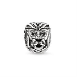 Sterling Silver Lion Karma Bead