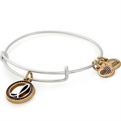 Buy Alex and Ani I Initial Two-Tone Bangle