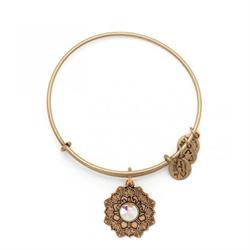 Mother of the Bride Swarovski Bangle in Rafaelian Gold