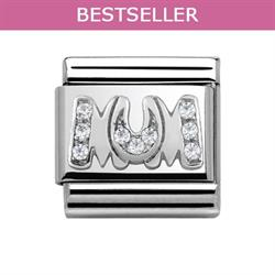 Buy Nomination Silver CZ Mum