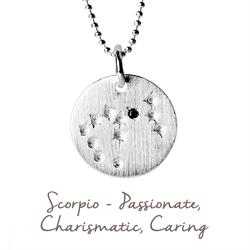 Mantra Scorpio Star Map in Silver