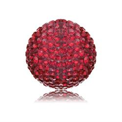 LOVE Red Crystal Soundball Small