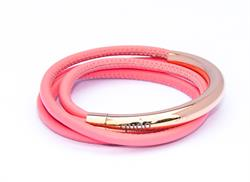 Pink Doppio Bracelet in Rose Gold