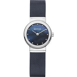 Milanese Blue Bracelet Watch