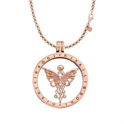 Fragile Butterfly Rose Gold Necklace