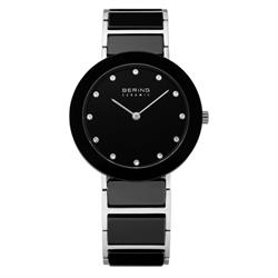 Ceramic Black Bering Mens Watch