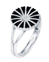 Silver Daisy Ring Size 52