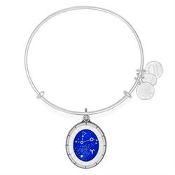 Alex and Ani Celestial Wheel Aries Shiny Silver Finish
