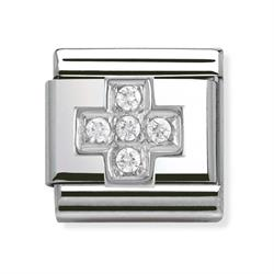Buy Nomination Silver CZ Cross