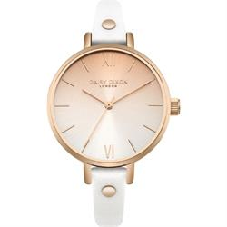 Hattie White Ombre Watch