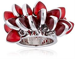 Red Love Explosion Ring Size 6