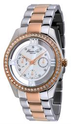 Ladies Two-tone Multifunction Watch