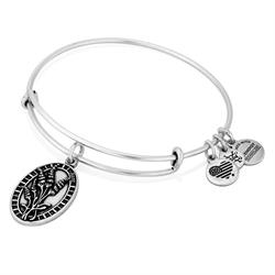 Alex and Ani Because I Love You Aunt in Rafaelian Silver Finish Sale