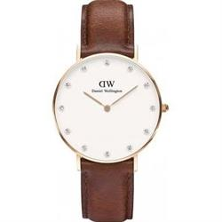 Daniel Wellington Ladies Classy St Mawes Watch in Rose Gold