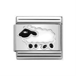 Silver Sheep Charm by Nomination