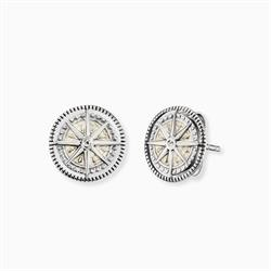 Wind Rose Stud Earrings