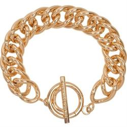 Nikki Lissoni Gold Plated Bracelet 19cm